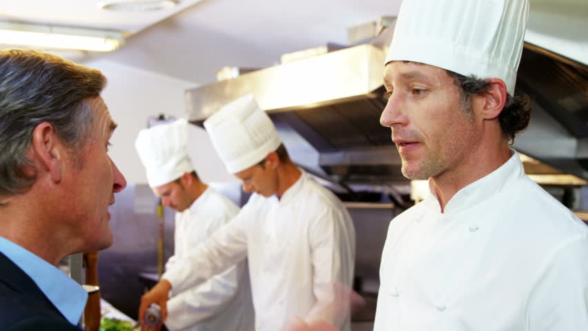 head chef and manager