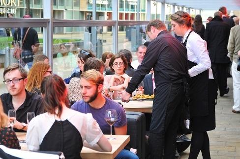 restaurant staff taking ownership