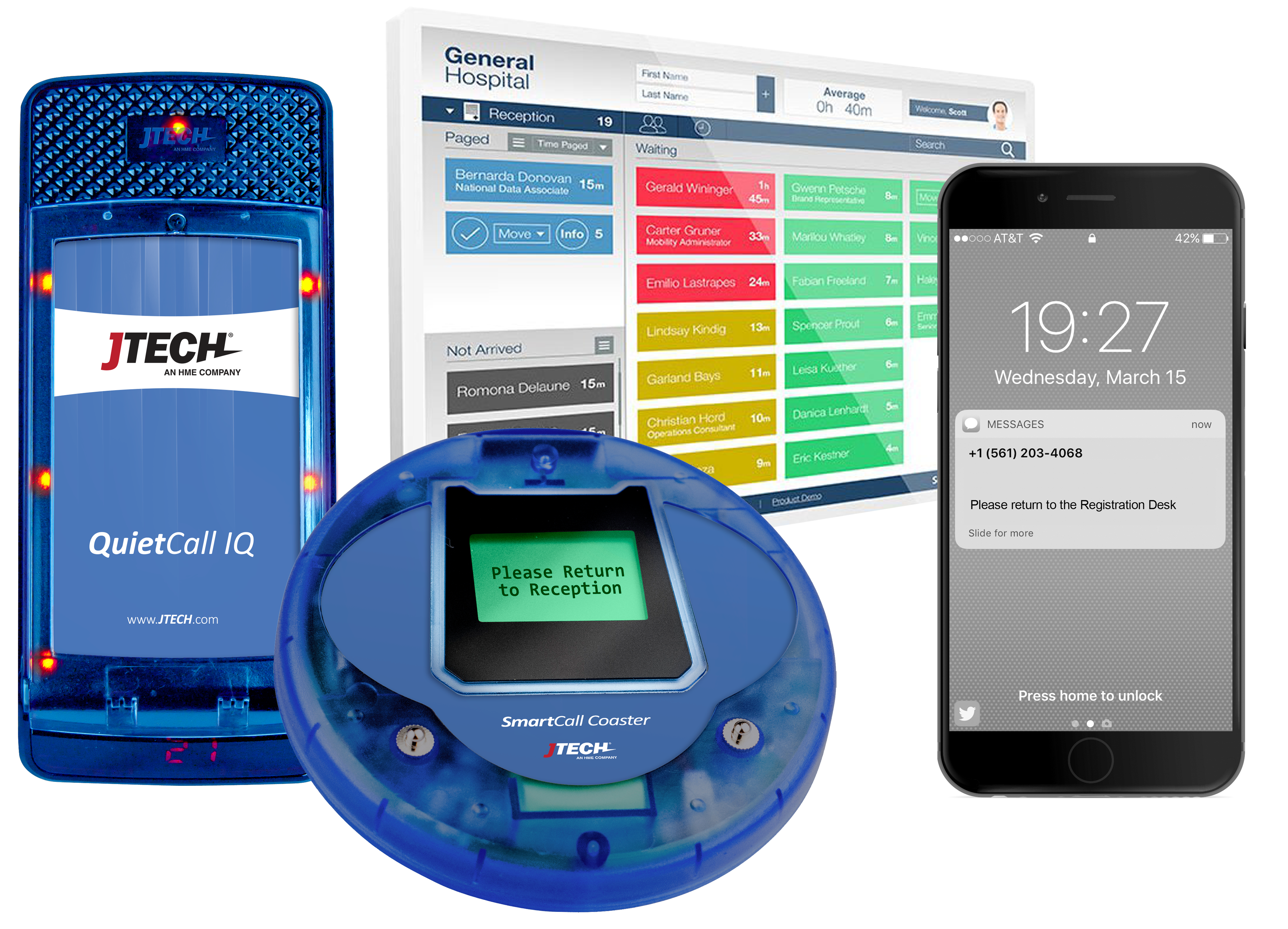 QuietCall® and SmartCall™ Healthcare Pagers