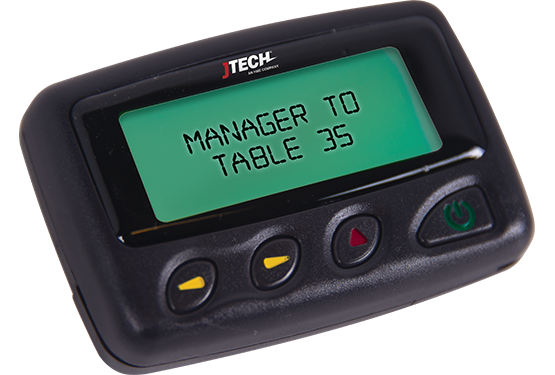 Server Pagers - Alpha Numeric Pager