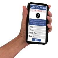 FindMe - Hand Phone Screen