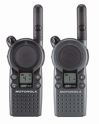 Motorola CLS and CLP Radios