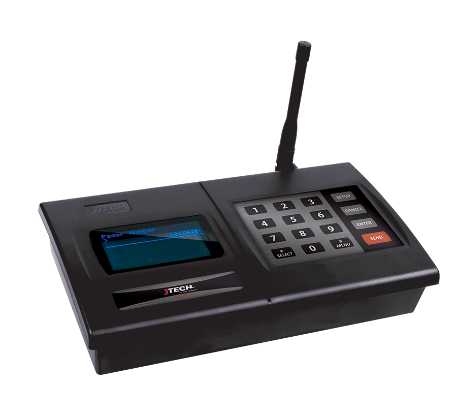 jtech pager transmitters